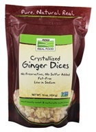 Ginger Dices Crystalized