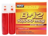 Shots B-12 Energy Boost 12 x .5 oz. Shots