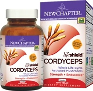 LifeShield Cordyceps Strength & Endurance 100% Vegan