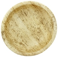 Bamboo Dinnerware Round Bowl Reusable Disposable 7.06""