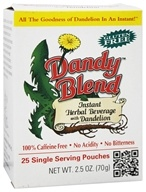 Instant Dandelion Beverage Single Servings