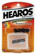 Hearos - Ear Plugs Reusable Rock 'n Roll Series - 1 Pair