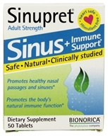 Sinupret Sinus + Immune Support Adult Strength