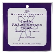 Soothing PMS and Menopause Formula Essential Oil Body Patch