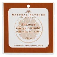 Enhanced Energy Formula Essential Oil Body Patch