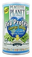 Peaceful Planet Pea Protein Energy Shake Unsweetened