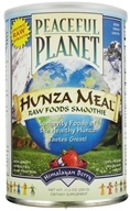 Peaceful Planet Hunza Meal Raw Foods Smoothie