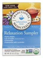 Organic Relaxation Herb Tea Sampler