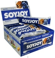 DROPPED: SoyJoy - All Natural Baked Whole Soy & Fruit Bar Blueberry - 1.05 oz.