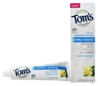 Natural Toothpaste Simply White With Fluoride