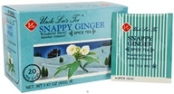 Uncle Lee's Tea - Spice Tea Snappy Ginger - 20 Tea Bags