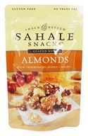 Glazed Nuts Almonds with Cranberries, Honey + Sea Salt