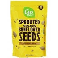 100% Organic Sprouted Sunflower Seeds
