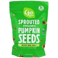 Sprouted Pumpkin Seeds with Celtic Sea Salt