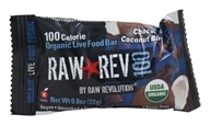Organic Live Food Bar Raw Rev 100 Calorie