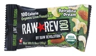 Raw Revolution - Organic Live Food Bar Raw Rev 100 Calorie Spirulina Dream - 0.8 oz.