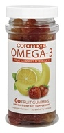 DHA Omega3 Gummy Fruits for Adults