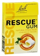 Bach Original Flower Remedies - Rescue Remedy Chewing Gum Orange & Elderflower - 17 Piece(s)