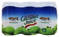 All Natural Coconut Juice 6 x 10 oz. Cans