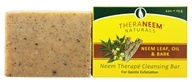 TheraNeem Organix Cleansing Bar For Gentle Exfoliation