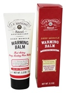 JR Watkins - Naturals Apothecary Deep Muscle Warming Balm - 3.3 oz.