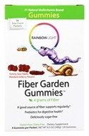 Rainbow Light - Fiber Garden Gummies - 30 Packet(s)