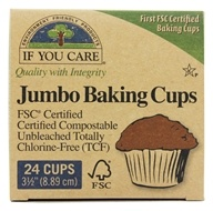 Jumbo Baking Cups Unbleached Totally Chlorine-Free (TCF)