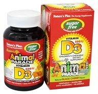 Source Of Life Animal Parade Vitamin D3 Sugar Free