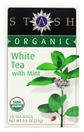 Premium Organic White Tea with Mint