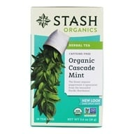 Premium Organic Cascade Mint Caffeine Free Herbal Tea