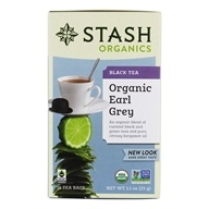 Premium Organic Earl Grey Black & Green Tea