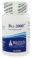 B12-2000 with Folic Acid and B6