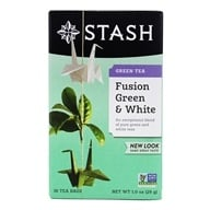 Premium Fusion Green & White Tea