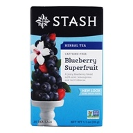 Premium Caffeine Free Herbal Tea Blueberry Superfruit