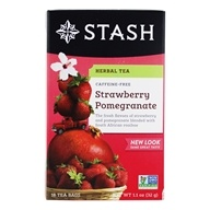 Premium Caffeine Free Herbal Red Tea Strawberry Pomegranate