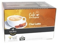 Cafe Escapes Chai Latte 12 K-Cups