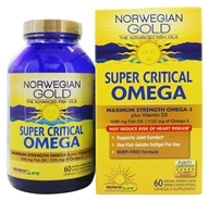 Norwegian Gold Ultimate Fish Oils Maximum Strength Omega-3 Super Critical Omega