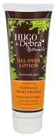 Hugo Naturals - All Over Lotion Comforting Vanilla & Sweet Orange - 8 oz.