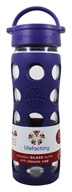 Glass Beverage Bottle With Silicone Sleeve