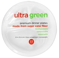 Premium Three Compartment Dinner Plates 10 Inches