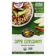Instant Hot Oatmeal Apple Cinnamon 8 x 50g Packets