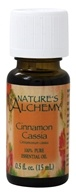 Nature's Alchemy - 100% Pure Essential Oil Cinnamon Cassia - 0.5 oz.