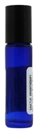 Cobalt Blue Glass Bottle with Roll On Applicator and Black Cap