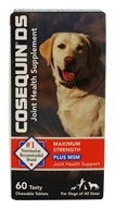 Cosequin - DS Double Strength Plus MSM Joint Health Supplement for Dogs - 60 Chewable Tablets