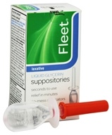 Fleet Liquid Glycerin Suppositories Laxative