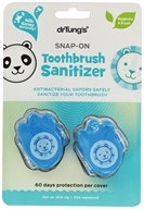 Snap-On Kid's Toothbrush Sanitizer