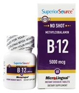 No Shot B12 Methylcobalamin Instant Dissolve