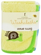Washcloths 100% Super Soft Cotton