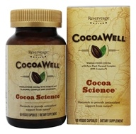 CocoaWell Maximum Potency Organic Cocoa with Pure Plant Flavanols