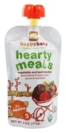 HappyBaby - Organic Baby Food Stage 3 Meals Ages 7+ Months Beef Stew - 4 oz.